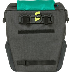 Basil Discovery 365D Single Pannier Bag M 9l, czarny/turkusowy
